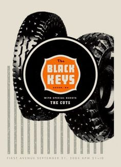 Aesthetic Apparatus: THE BLACK KEYS #apparatus #tire #aesthetic #poster