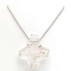 GÜNTER KRAUSS necklace with cross pendant