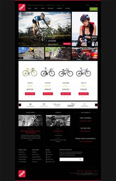 Trex : Free Responsive Magento Theme for Bike Store