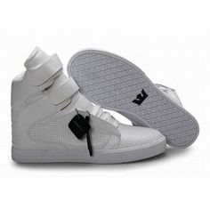 kids all white supra tk society high top perf shoes #fashion