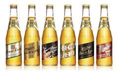 Miller High Life Heritage Series — The Dieline #design #packaging