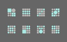 Patterns designed by Trüf for investment firm Echo Capital #cc