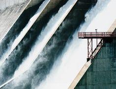 83f6d280002db26140decb13ba77a3ec.jpg (600×463) #perspective #dam #concrete #water