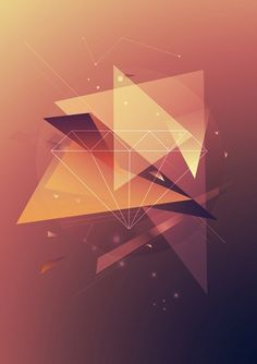shapes by carmieantonio | Shadowness #geometry #design #shapes #colors #poster