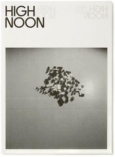 High Noon - Experimental Jetset #print #publication #typography