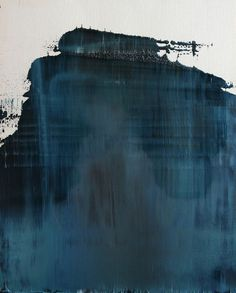 "Koen Lybaert; Oil 2013 Painting ""abstract N° 702"" #brush #brush strokes #strokes #mountain"