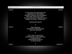 Bureau Collective – Into the Light #website #& #white #black