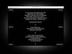 Bureau Collective – Into the Light #website #& #white #black