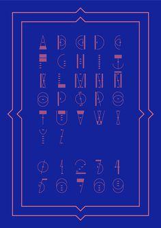 Pablo Abad - Aurora Australis #typography