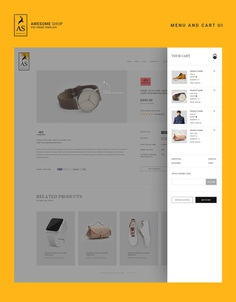 Website Template for Fashion Brand on Behance