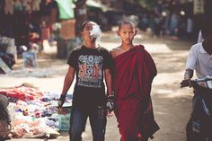 #photo #brothers #siblings #monk