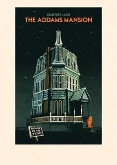 Addams.jpg (354×500) #rui #illustration #ricardo #poster