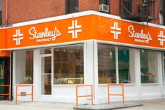 Fashion and Design T Magazine Blog NYTimes.com #pharmacy #orange #white #clean