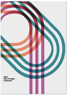 MARIN DSGN #graphic design #poster #minimalist #lines