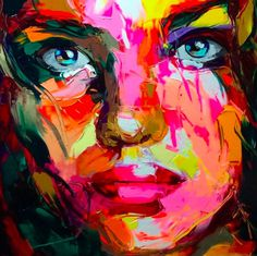 Francoise Nielly | PICDIT #art #painting #paint #color