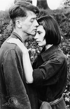 Still of John Hurt and Suzanna Hamilton in Nineteen Eighty Four #brother #big #winston #photography #film #1984 #julia