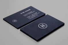 Hume Atelier Business Cards