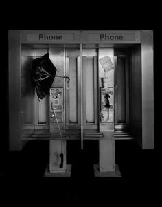 Empty Phone Boxes in New York City by Michael Massaia