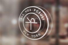 The Vox Populi by Sam Curtis #logo #circle #mark #symbol #glass print