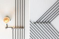 eley kishimoto studio maclean optical illusion wallpaper london bakery designboom #cafe
