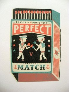 design work life » Tom Frost Matchbox Illustrations #offset #print #retro