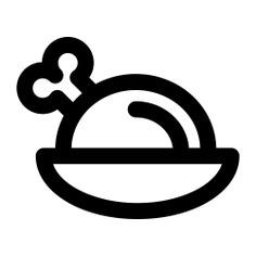 See more icon inspiration related to turkey, chicken, food, chicken leg, roast chicken and turkey leg on Flaticon.