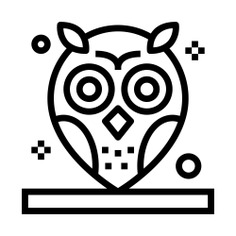 See more icon inspiration related to owl, bird, hunter, zoo, animals and animal on Flaticon.