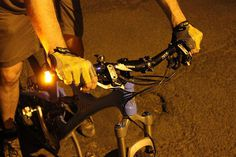 Indicator lights for your bike to make you feel safer on the road. #productdesign #modern #lifestyle #outdoors