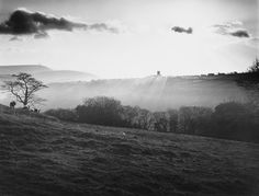 Heptonstall, backlit, Yorkshire, 1978 - Fay Godwin, ©The British Library Board #white #black #fay #photography #yorkshire #and #godwin