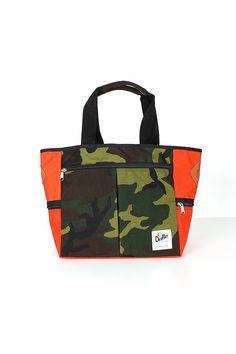 Wear n tear / DRIFTER WEEKEND TOTE MANDARIN / CAMO #bag #noirvalor