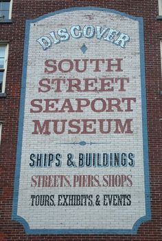 Fulton and Pearl Street – NYC Type | NYC Typography