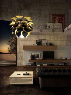 Interior design(Living Room ByArt4Light, viajustthedesign) #interior design