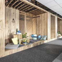 Office Space in Poznan by ZONA Architekci - InteriorZine