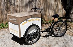Brown's Court Bakery Trike | Nudge #stamp #bakery #branding #design #typography