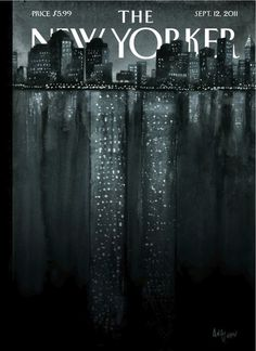 Striking cover for the New Yorker 9/12/11