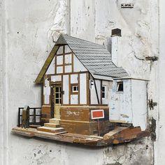 Ron van der Ende's Found Wood Sculptures | We Heart; Lifestyle & Design Magazine #ron #van #der #ende #sculpture #rotterdam #perspect