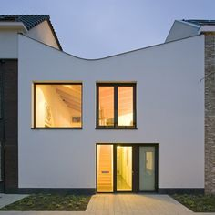 Dezeen » Blog Archive » V-House by GAAGA #architecture #facades #houses