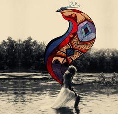 Alexandra Valenti | Hippie Foto CzytajNiePytaj Magazyn Online. Sztuka, Moda, Design, Kultura #photo #collage #hippie