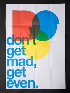 A.N.D Studio Blog #primary #print #design #graphic #colours #poster #typography