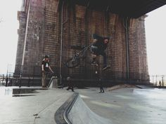 Shreddin'. Andrew McMullen shooting Chad Smith #bmx #smith #chad #mcmullen #andrew