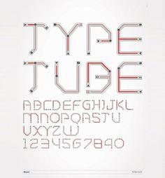 Rodrigo Buim — Tipografia Youtube — Designaside.com #youtube #lettering #typography