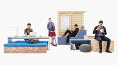 The Edge modular furniture system for offices - www.homeworlddesign. com (2) #furniture #workspace