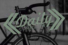 Daily Commuter #rideordie #design #logohalftone