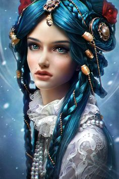 Digital Character Illustrations by Daria Ridel