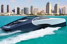Bugatti Niniette 66, A Superyacht You Obviously Can't Afford #BugattiNiniette66 #Bugatti #Niniette66