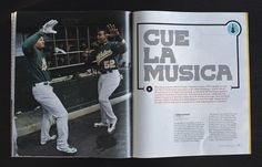 ESPN: Music Issue Allan Peters #design #editorial #typography