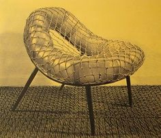 MONDOBLOGO: 11/1/10 #miller #william #cordage #chair #1944
