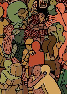 image.png #jean #illustration #kissing #jullien