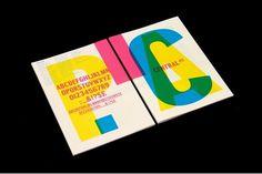 StudioMakgill - Central Avenue type specimen #print #makgill #studio #layout #typography