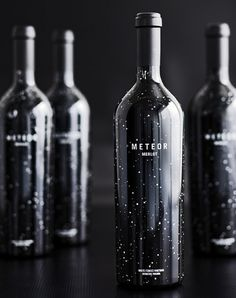 Meteor Merlot : Lovely Package® . Curating the very best packaging design. #package #stars #work labs